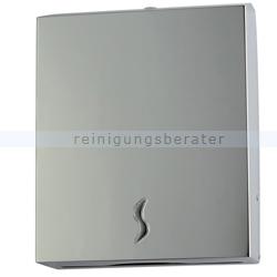 Papierhandtuchspender Orgavente BRINOX Edelstahl glänzend