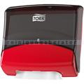 Papierhandtuchspender Tork für Reinigungstücher schwarz/rot