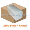 Papierhandtücher 2560 Blatt hochweiss 21x32 cm