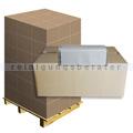 Papierhandtücher 32 x 5000 Blatt natur 25x21 cm grau Palette