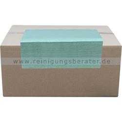 Papierhandtücher 5000 Blatt hellgrün 25x21 cm