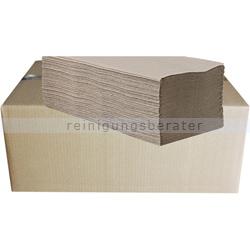 Papierhandtücher 5000 Blatt natur 25x20 cm