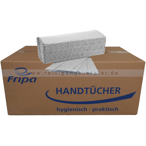 Papierhandtücher Fripa 2400 Blatt natur 25x41 cm
