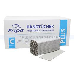 Papierhandtücher Fripa 3120 Blatt natur 25x33 cm