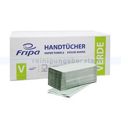 Papierhandtücher Fripa 5000 Blatt grün 25x23 cm