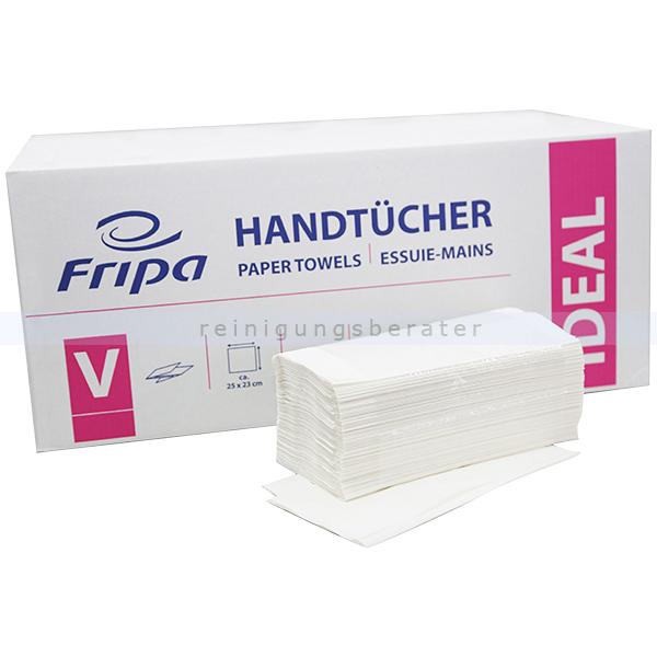 Papierhandtücher Fripa Ideal 5000 Blatt hochweiss 25x23 cm