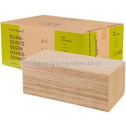 Papierhandtücher Green Hygiene FALK natur 25x23 cm Palette