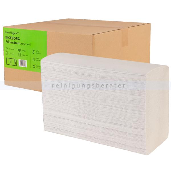 Papierhandtücher Green Hygiene INGEBORG 24x 21cm Palette