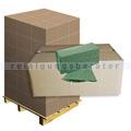 Papierhandtücher grün 25x21 cm Zick-Zack Falzung, Palette