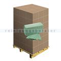 Papierhandtücher grün 25x23 cm, Palette