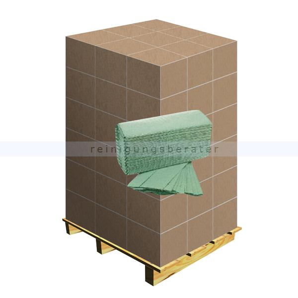 papierhandt cher gr n 25x23 cm palette. Black Bedroom Furniture Sets. Home Design Ideas
