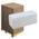 Zusatzbild Papierhandtücher hochweiß 25x23 cm, Palette