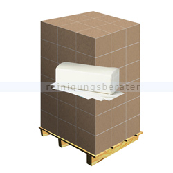 Papierhandtücher hochweiß 25x23 cm, Palette