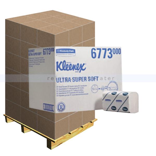 Papierhandtücher Kimberly Clark Kleenex Ultra Groß, Palette