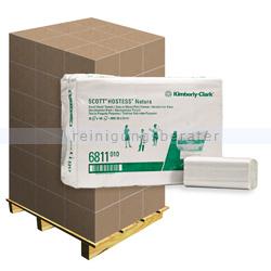 Papierhandtücher Kimberly Clark SCOTT® NATURA Weiß, Palette