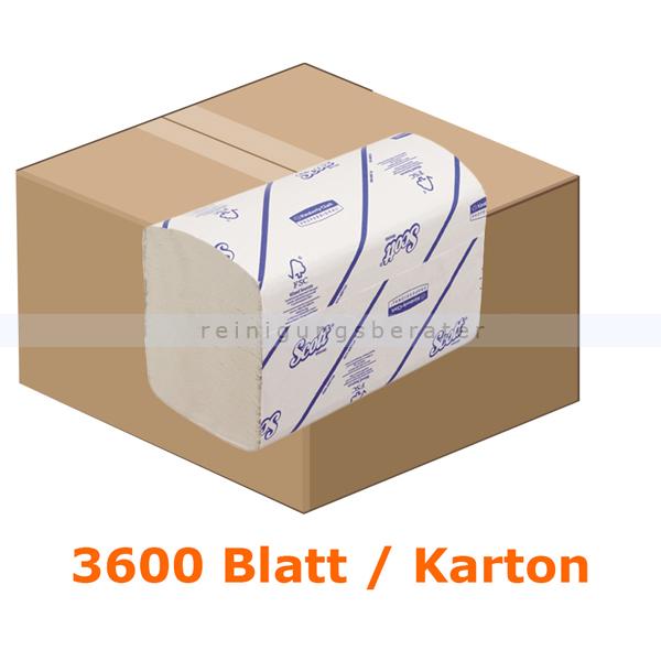 Papierhandtücher Kimberly Clark SCOTT® XTRA Medium Weiß