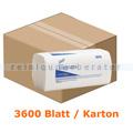 Papierhandtücher Kimberly Clark SCOTT Plus 1-lagig hochweiß