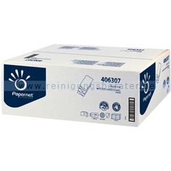 Papierhandtücher Papernet 3000 Blatt weiß 20,3x32 cm