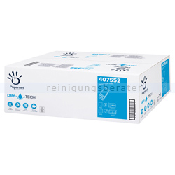 Papierhandtücher Papernet Airlaid 2000 Blatt weiß 20.5x32 cm