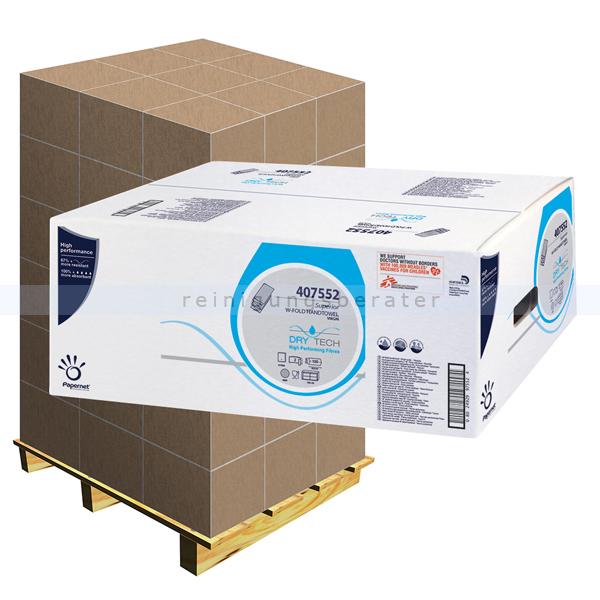 Papierhandtücher Papernet Airlaid weiß, Palette