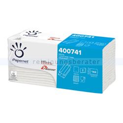 Papierhandtücher Papernet C-Falz 2880 Blatt weiß 23x32 cm