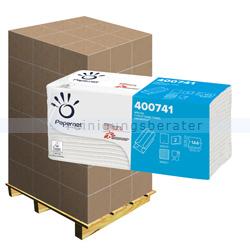 Papierhandtücher Papernet C-Falz weiß 23x32 cm