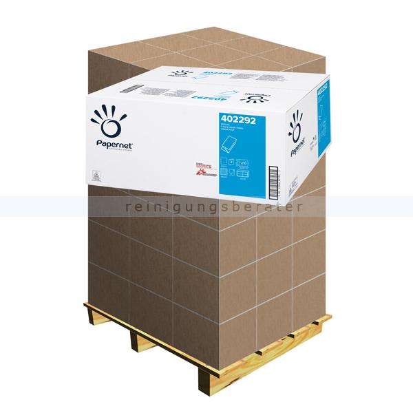 Papierhandtücher Papernet SPECIAL V-Falz 24x21 cm Palette