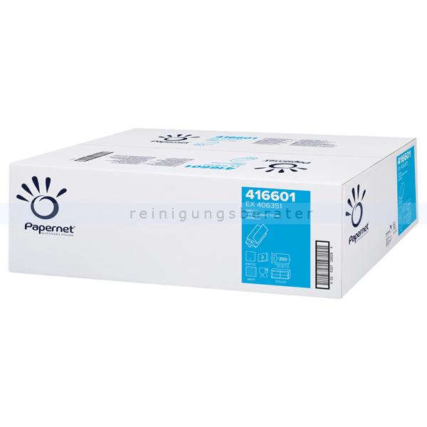 Papierhandtücher Papernet Special Z naturweiß 20,3x24 cm