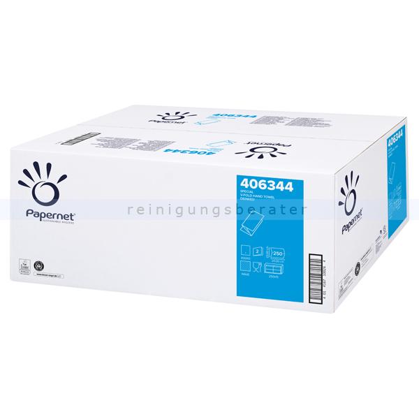 Papierhandtücher Papernet SuperGreen 3750 Bl. grün 24x23cm
