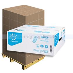 Papierhandtücher Papernet weiß 22x24 cm, Palette
