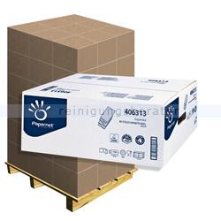 Papierhandtücher Papernet weiß 22x32 cm, Palette
