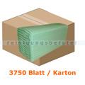 Papierhandtücher SCA Tork 3750 Bl. grün 25x23 cm
