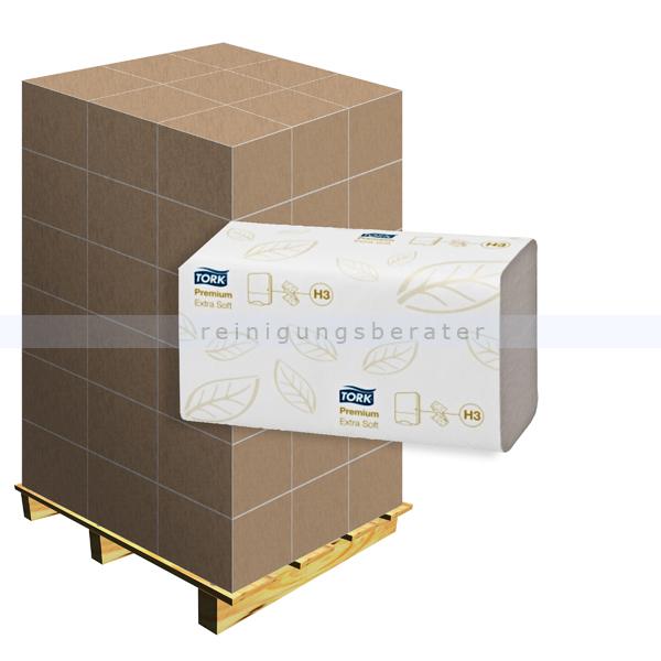 Papierhandtücher SCA Tork weiß 23x23 cm, Palette