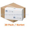 Papierhandtücher Tork Xpress Multifold 21 x 23,5 cm, weiss