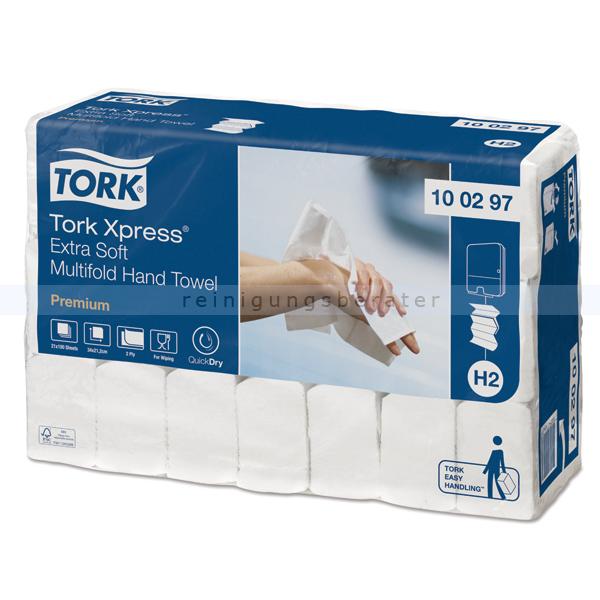 Papierhandtücher Tork Xpress Multifold Handtuch 20x80 Stück