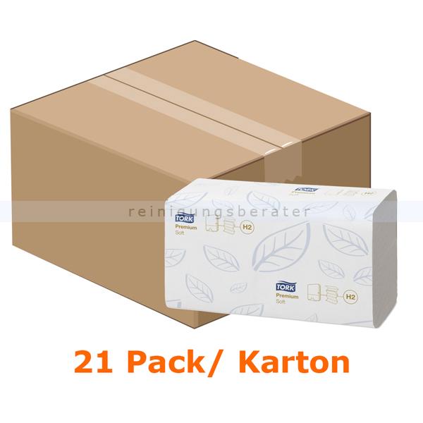 Papierhandtücher Tork Xpress Multifold Handtücher 21x34 cm