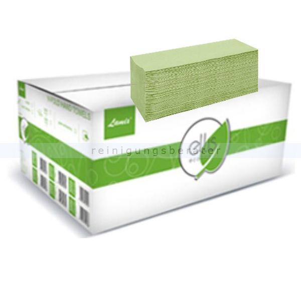 Papierhandtücher V Ellis Eco 3200 Blatt lindgrün 24 x 22 cm