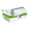 Papierhandtücher V Ellis Eco 3200 Blatt weiß 24 x 21 cm