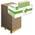 Zusatzbild Papierhandtücher V Ellis Eco lindgrün 24 x 22 cm Palette