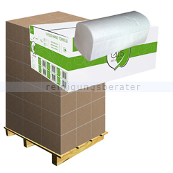 Papierhandtücher V Ellis Eco weiß 24x21 cm Palette