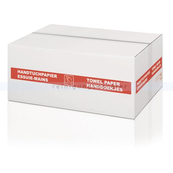 Papierhandtücher Wepa 2250 Blatt hochweiß 20,6x32 cm
