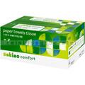 Papierhandtücher Wepa Comfort 3072 Blatt natur 25x33 cm