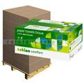 Papierhandtücher Wepa Comfort natur 25x33 cm, Palette
