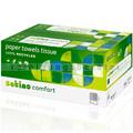 Papierhandtücher Wepa Satino 3200 Blatt hochweiss 25x23 cm