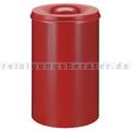 Papierkorb (feuersicher) 110 L Rot