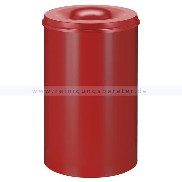 ReinigungsBerater Papierkorb (feuersicher) 110 L Rot selbstlöschender Papierkorb 31002184