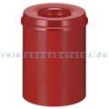 Papierkorb (feuersicher) 15 L Rot