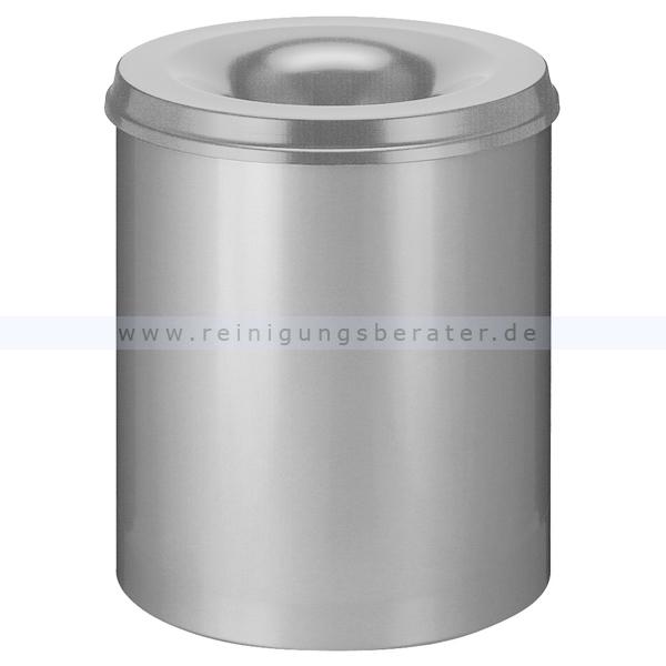 ReinigungsBerater Papierkorb (feuersicher) 80 L Grau selbstlöschender Papierkorb 31002030