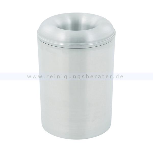 ReinigungsBerater Papierkorb (feuersicher) aus Aluminium 13 L selbstlöschender Papierkorb 31051489