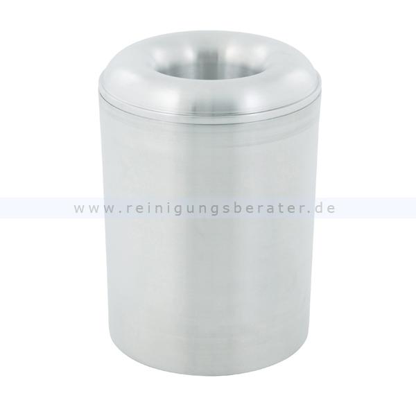 ReinigungsBerater Papierkorb (feuersicher) aus Aluminium 20 L selbstlöschender Papierkorb 31051496